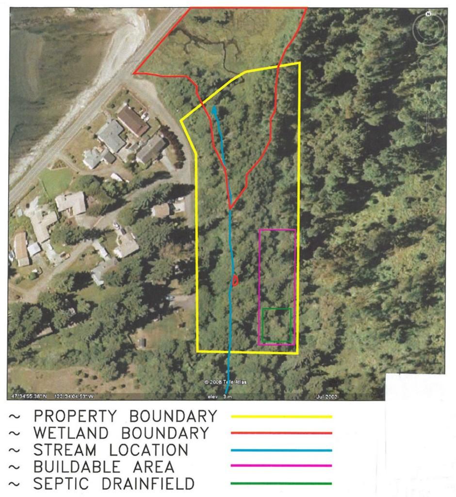 Land for Sale, ListingId:28401669, location: 5481 Rich Cove Lane Pt Orchard 98366