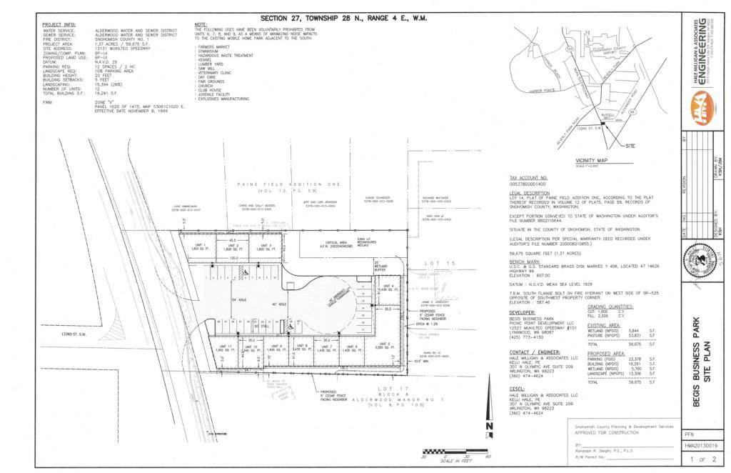 Land for Sale, ListingId:30411640, location: 13131 Mukilteo Speedway Lynnwood 98087
